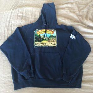 Men's Sierra Nevada blue graphic hoodie